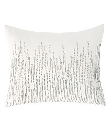 DKNY Alloy Square Decorative Pillow