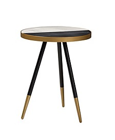 Lauro Marble End Table