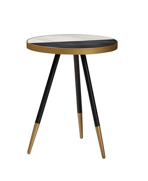 Furniture Lauro Marble End Table