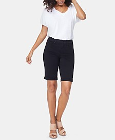 NYDJ Briella Denim Bermuda Shorts