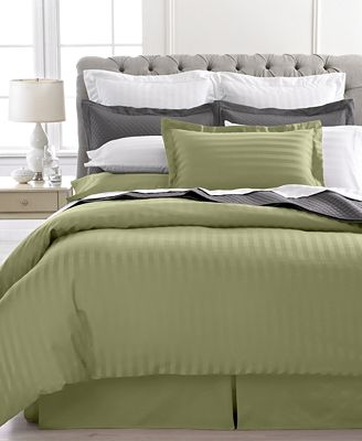 Charter Club Damask Stripe 500 Thread Count Pima Cotton Duvet Covers Created For
