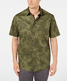 Men's Pennello Watercolor Stretch Shirt, Created for Macy's