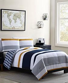 Indigo 2 Piece Twin XL Comforter Set
