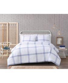 Modern Charm Cotton 3 Piece Full/Queen Comforter Set