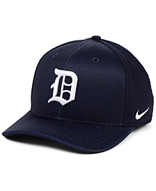 Detroit Tigers Velocity Swooshflex Stretch Fitted Cap