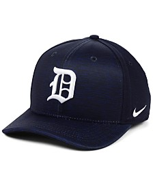 Nike Detroit Tigers Velocity Swooshflex Stretch Fitted Cap