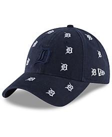 New Era Women's Detroit Tigers Logo Scatter Adjustable 9TWENTY Cap