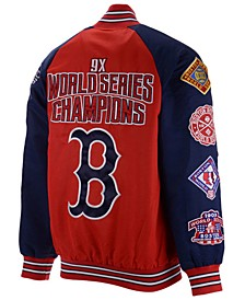 Men's Boston Red Sox Game Ball Commemorative Jacket