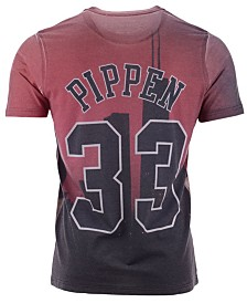 Mitchell & Ness Men's Scottie Pippen Chicago Bulls City Pride Name And Number T-Shirt