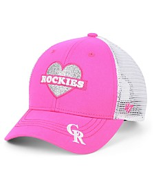 '47 Brand Girls' Colorado Rockies Sweetheart Meshback MVP Cap