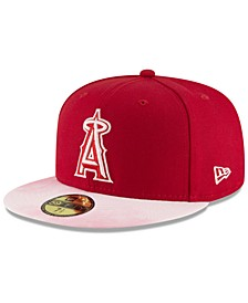 Los Angeles Angels Mothers Day 59FIFTY Fitted Cap