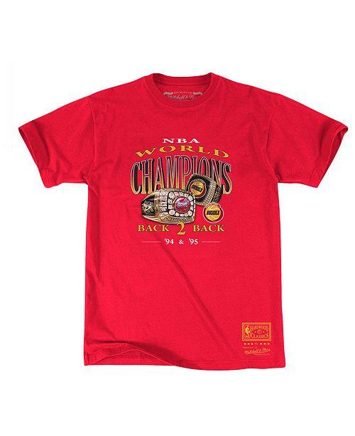 Mitchell & Ness Men's Houston Rockets Back to 90s T-Shirt