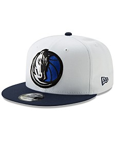 New Era Dallas Mavericks White XLT 9FIFTY Cap