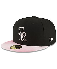 New Era Colorado Rockies Mothers Day 59FIFTY Fitted Cap
