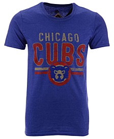 Men's Chicago Cubs Coop Souvenir Ticket T-Shirt