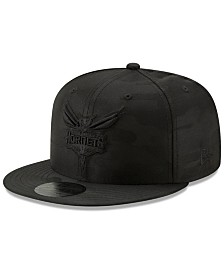 New Era Charlotte Hornets Blackout Camo 9FIFTY Cap