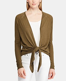 Lauren Ralph Lauren Open-Front Sweater