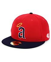 98e8ec5b New Era Los Angeles Angels Cooperstown Flip 59FIFTY Fitted Cap