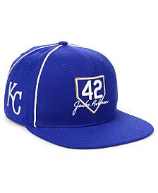 '47 Brand Kansas City Royals Jackie Robinson 42 Team Snapback Cap