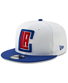 New Era Los Angeles Clippers White XLT 9FIFTY Cap