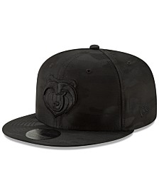New Era Memphis Grizzlies Blackout Camo 9FIFTY Cap