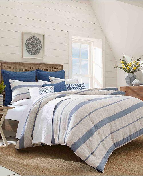 Nautica Norcross Comforter Sham Set, Full/Queen