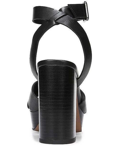 b7833879ad Franco Sarto Marta Platform Block-Heel Sandals & Reviews - Sandals ...