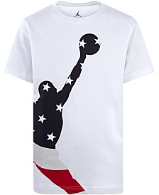 Jordan Little Boys Jumpman-Print Cotton T-Shirt