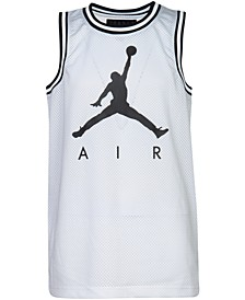 Big Boys Jumpman-Print Mesh Tank Top