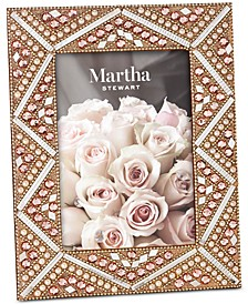 "Blush Beaded 5"" x 7"" Frame, Created for Macy's"