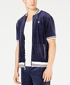 Fila Men's Carezzi Velour Jacket