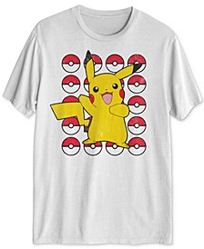 Pokémon Pikachu Dance Men's Graphic T-Shirt