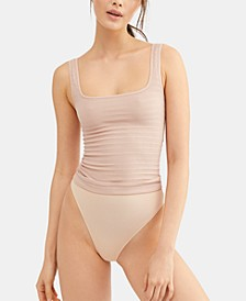 Square One Seamless Ribbed Tank