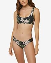 616022099a7 O'Neill Juniors' Jada Printed Bikini Top & Jada Printed Bikini Bottoms