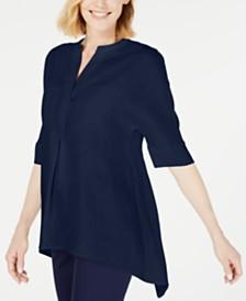 Anne Klein Linen Tunic