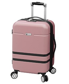 "London Fog Southbury II 20"" Spinner Suitcase, Created for Macy's"