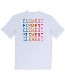 Element Men's Drop Logo Graphic T-Shirt