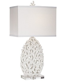 Poly White Coral Lamp