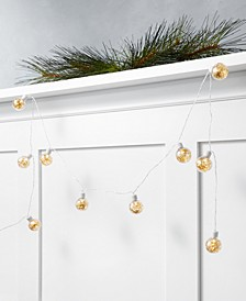 Shine Bright 6' LED Ball Garland, Created for Macy's