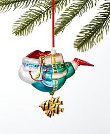 Florida Scuba Diving Santa Ornament Created For Macy's