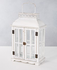 Silver Woods Wood Lantern, Created for Macy's