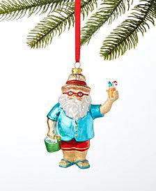Holiday Lane Hawaii Santa Ornament, Created For Macy's