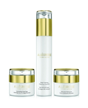 Image of Allegresse 24K Skincare Clean and Hydrate 3 Piece Set