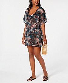Bali Nights Printed Tunic Cover-Up, Created for Macy's