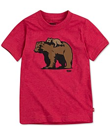 DADDY & ME COLLECTION Toddler Boys Papa Bear & Little Bear Graphic T-Shirt