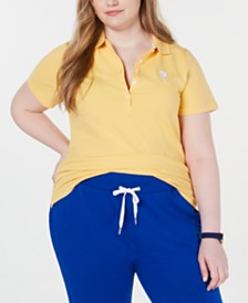 Tommy Hilfiger Plus Size 5-Button Polo, Created for Macy's