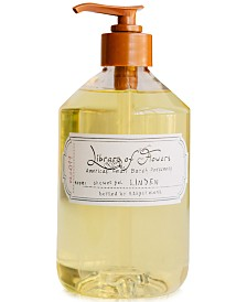 Library of Flowers Linden Shower Gel, 16-oz.