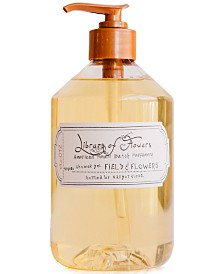 Library of Flowers Field & Flowers Shower Gel, 16-oz.