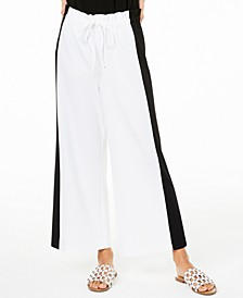Colorblocked Wide-Leg Pants, Created for Macy's
