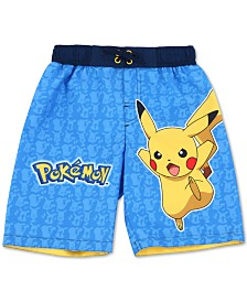 Dreamwave Little Boys Pokémon Swim Trunks